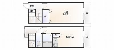 アミタスユウ日本橋メゾネット1DK.jpg