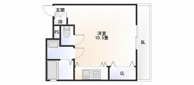 エルミタージュ難波南Ⅱ403-2.jpg