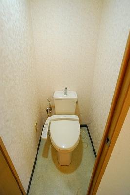 サンプラザ浪速Ⅱ2DKトイレ.jpg