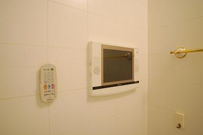 プレミシス岸里浴室TV.jpg