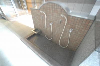 ロハスペット足洗い場.jpg