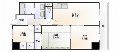 グランファミール桜川403.jpg