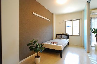 La CLochette de Ecrarge1L寝室.jpg
