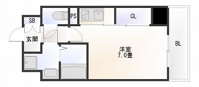 S-RESIDENCE難波ヴィアーレ1R.jpg